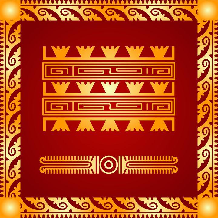 American indians, Maya and Aztec - tillhunter