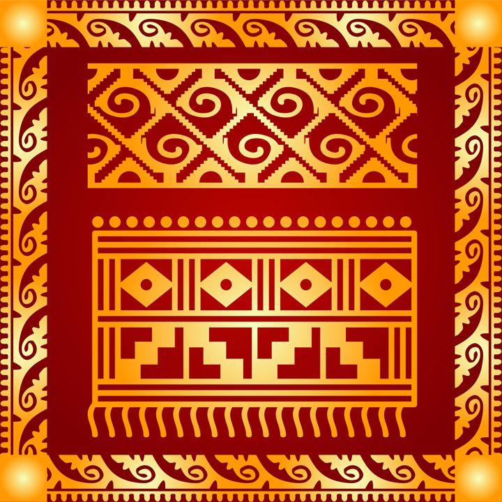 American indians, Maya symbols - tillhunter