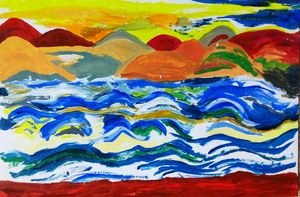 Island waves