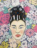 10x13 geisha print