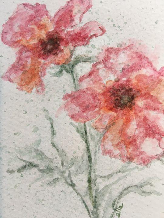 Watercolor Floral - Alice DiGiovanni