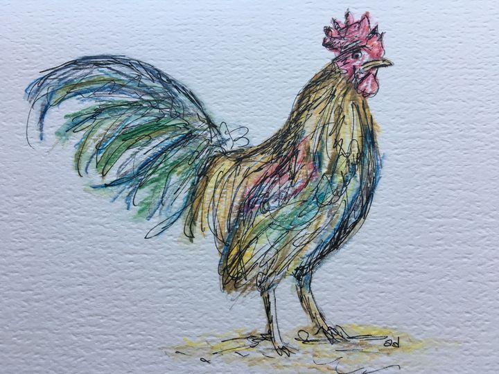 Rooster - Alice DiGiovanni