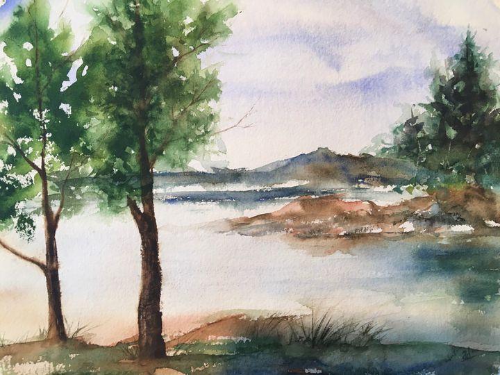 Lakeside Serenity - Alice DiGiovanni