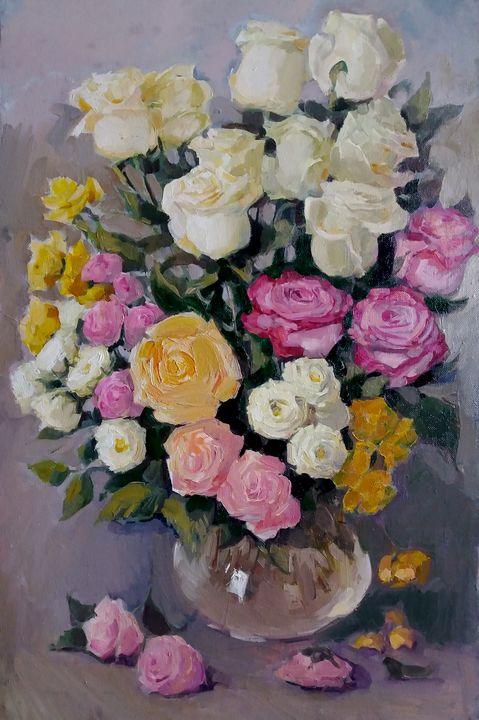 Bouquet of roses - Larisa