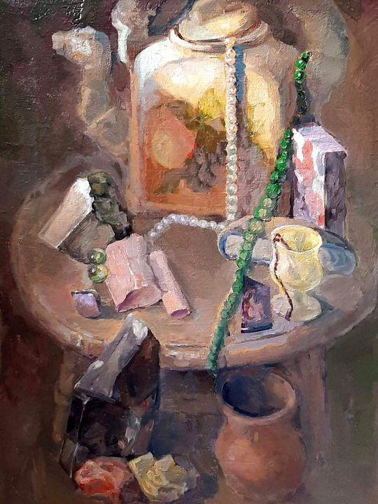 Still life with stones - Larisa