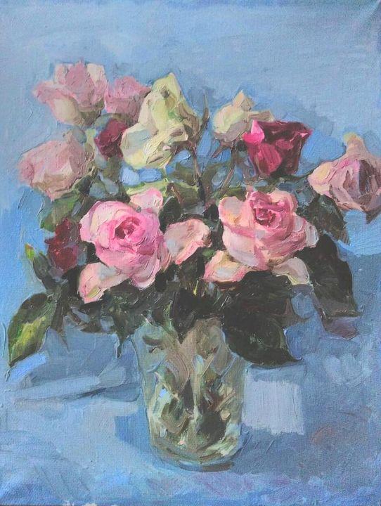 Bouquet of roses - Larisa