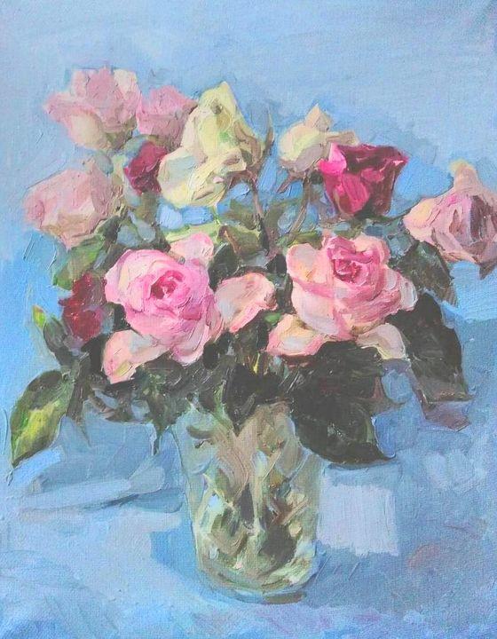 Bunch of roses - Larisa