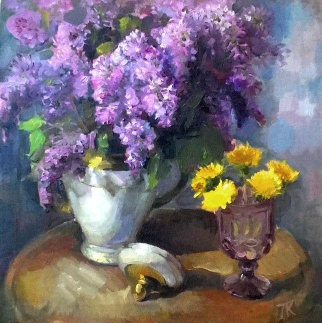 Still life with lilacs - Larisa