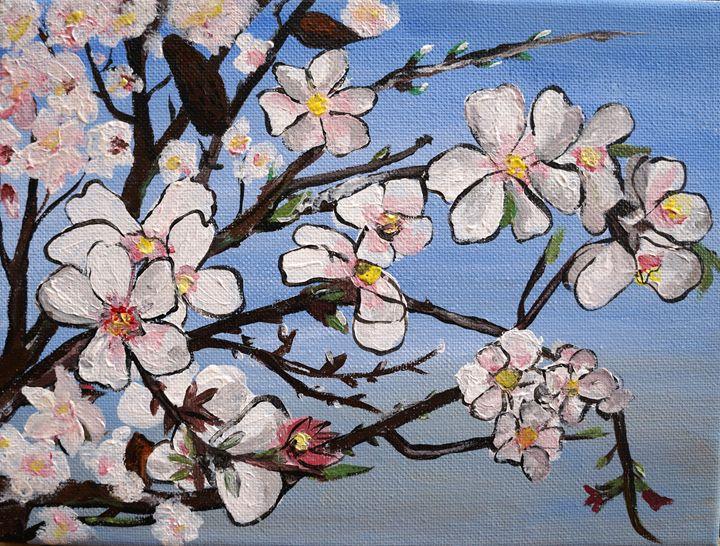 Almond blossom - KameliArte