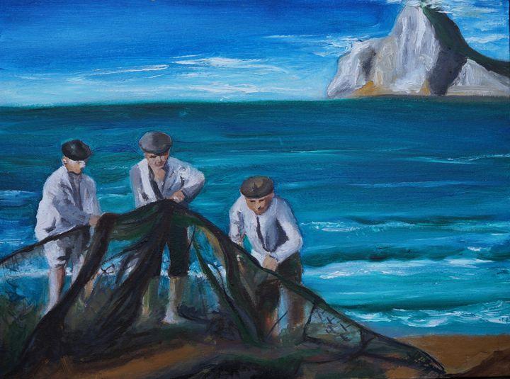 Spanish fishermen - KameliArte