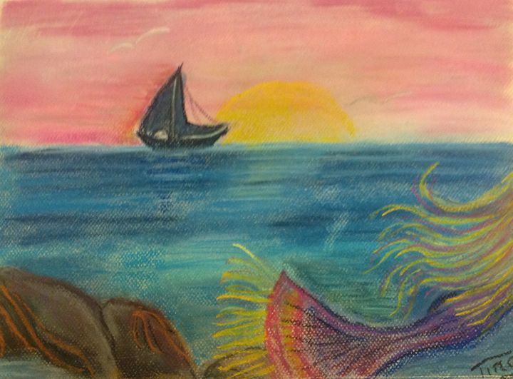 On the horizon - Artina Creations