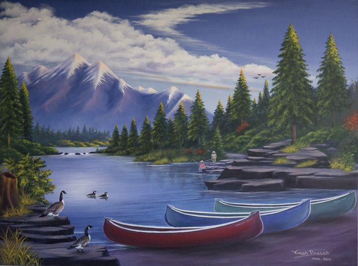 The Lake of Dreams - Vinod Prasad