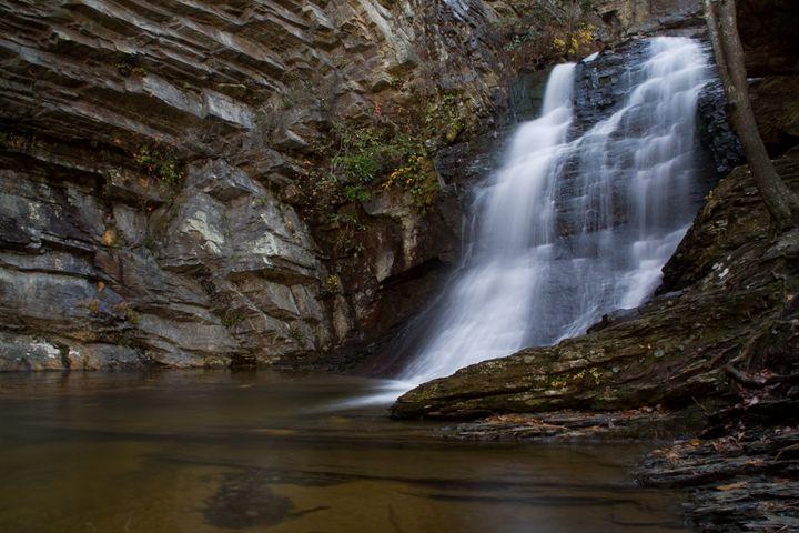Lower Cascades Waterfall - David Hopkins Photography