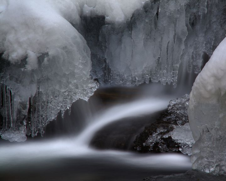 Water and Ice - David Hopkins Photography