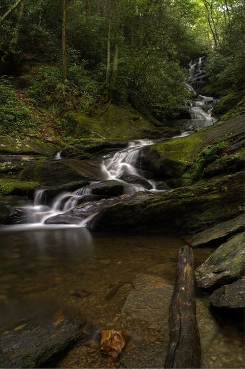 Roaring Fork Falls - David Hopkins Photography