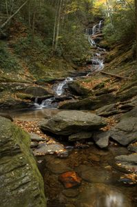 Roaring Fork Falls in the Fall