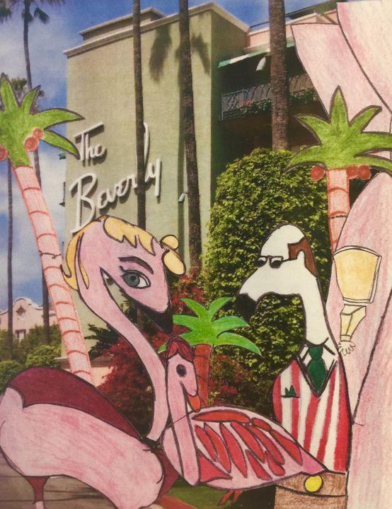 Pink Hotel - La Brea