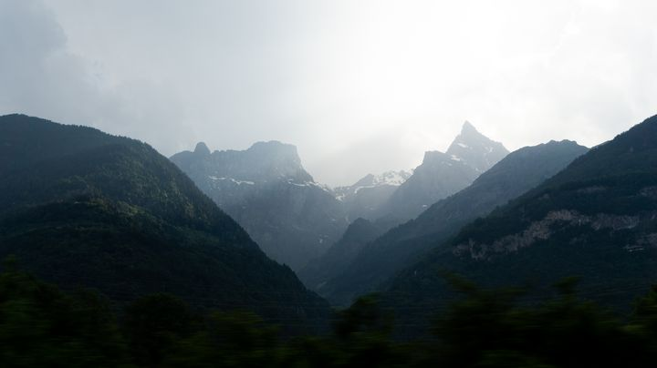 Mountains in the shadows - Simply Photography