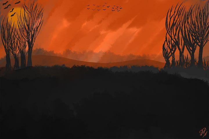 Sunset scene - Shekrem's