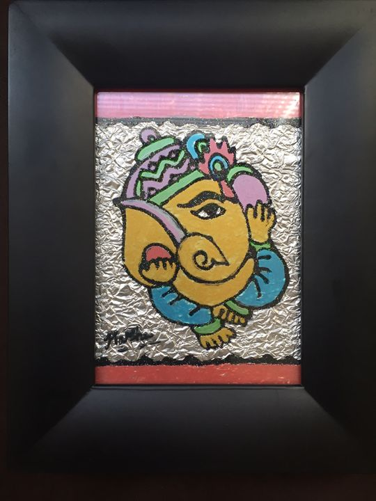 Lord Ganesh - Unique Colors
