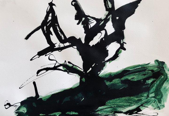 Black tree - Martine