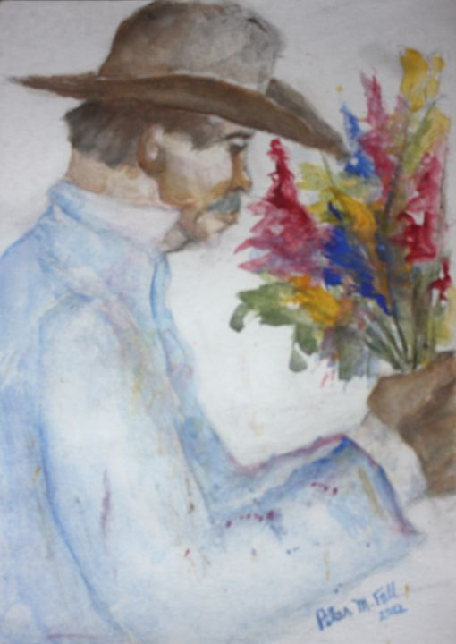 Jorge: Man With Flowers - Pilar Fall