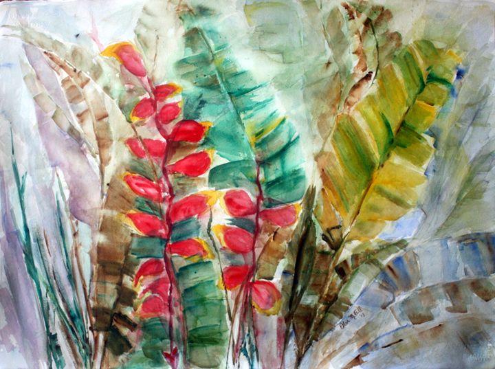 Canyon Woods Flora - Pilar Fall