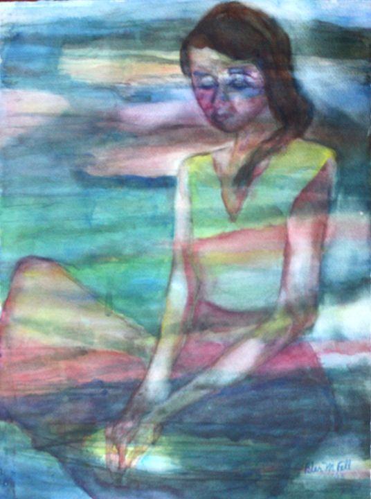 Gloria: Lady Meditating - Pilar Fall