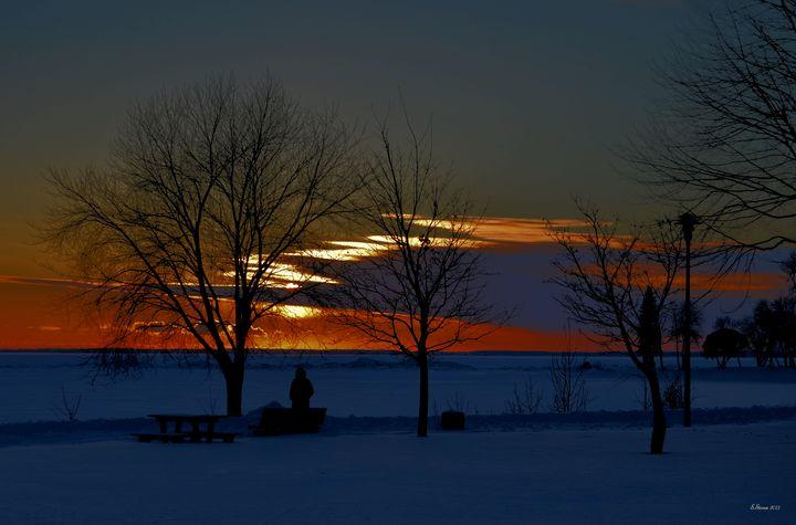 Watching the sunset - Steve Stones