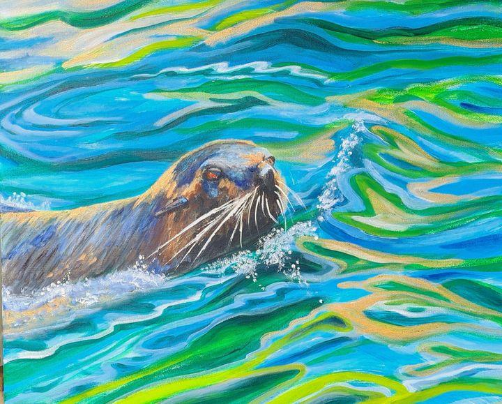 Seal - Glenda Smith's ART