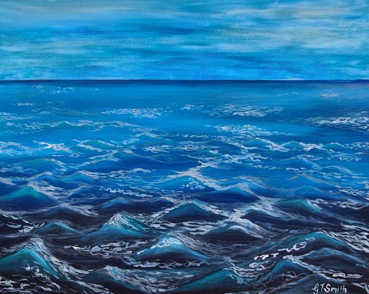 Ocean Blue - Glenda Smith's ART