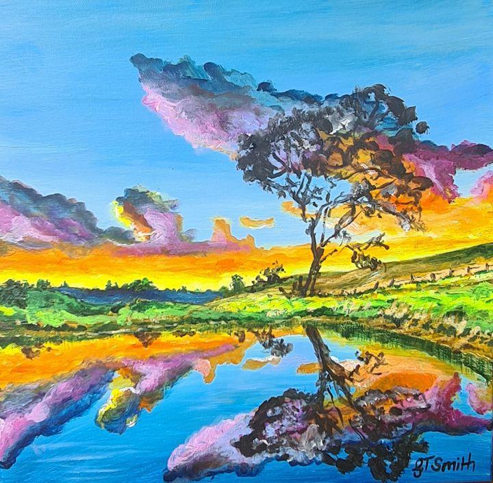 'Colour Pond' - Glenda Smith's ART