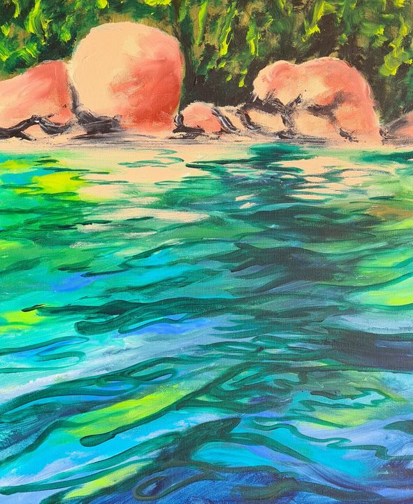 Skeleton Bay in Colour - Glenda Smith's ART