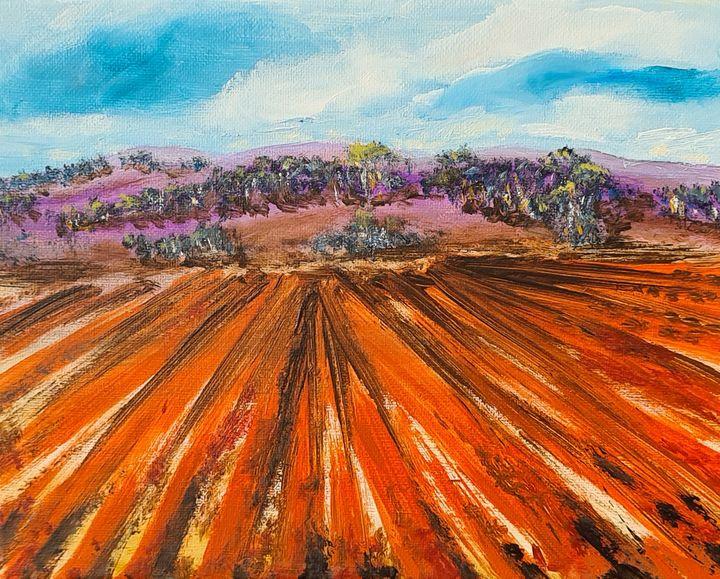 West Wyalong, NSW - Road Trip - Glenda Smith's ART