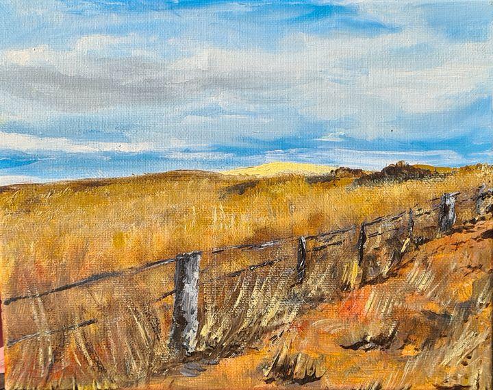 Clunes, Victoria - Road Trip - Glenda Smith's ART