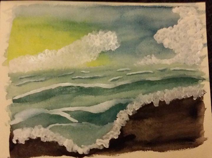 A settling sea - Lee 'Bert' Hammond