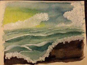 A settling sea