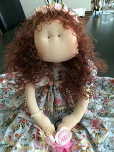 EXCLUSIVE Fabric Doll