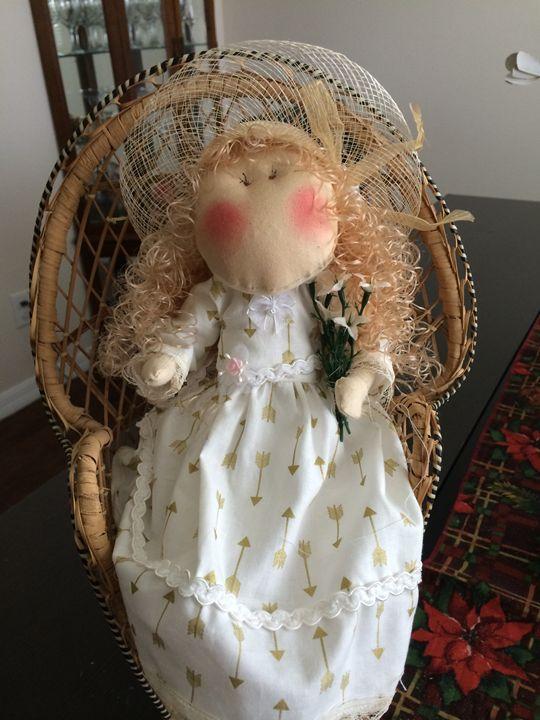 Fabric Doll - Jenny - MANAIN ART