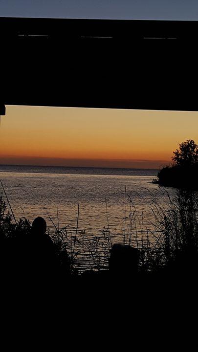 Sunset on the lake - Presley Photography
