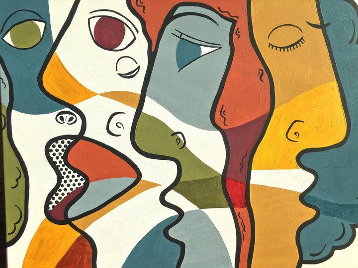 Many Faces - Allison Aboud