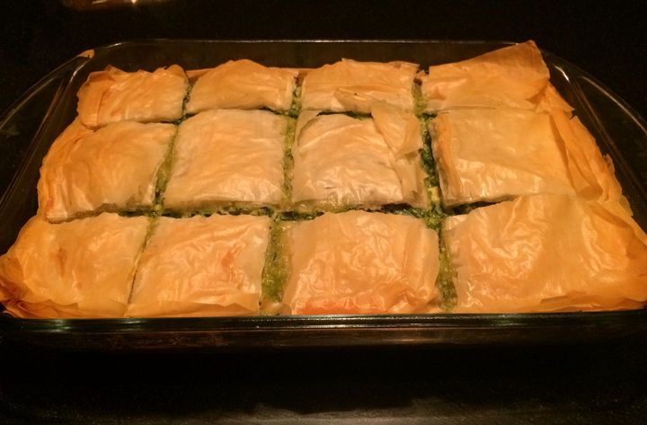 Spinach Pie Spanakopita - Nancy Kensill-Grubb