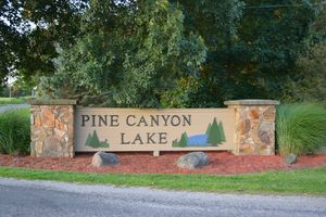 Pine Canyon Lake entrance