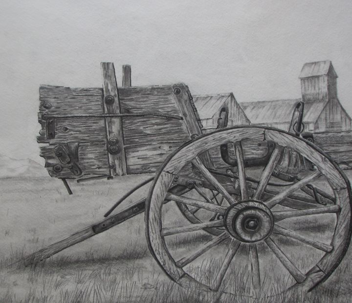 Derelict - Pencil by Nail