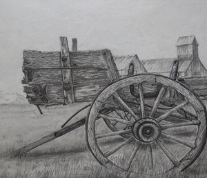 Derelict - Pencil by Nail