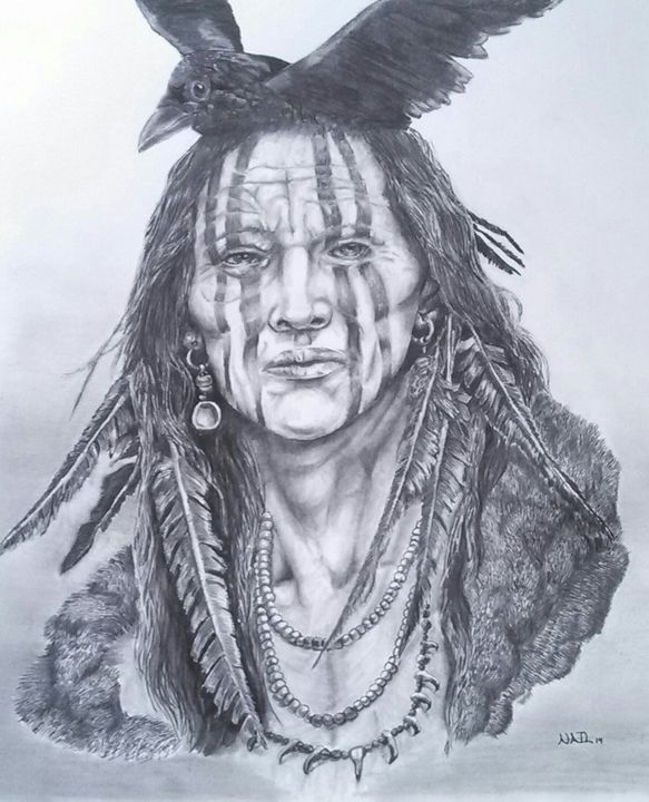 Crow - Pencil by Nail