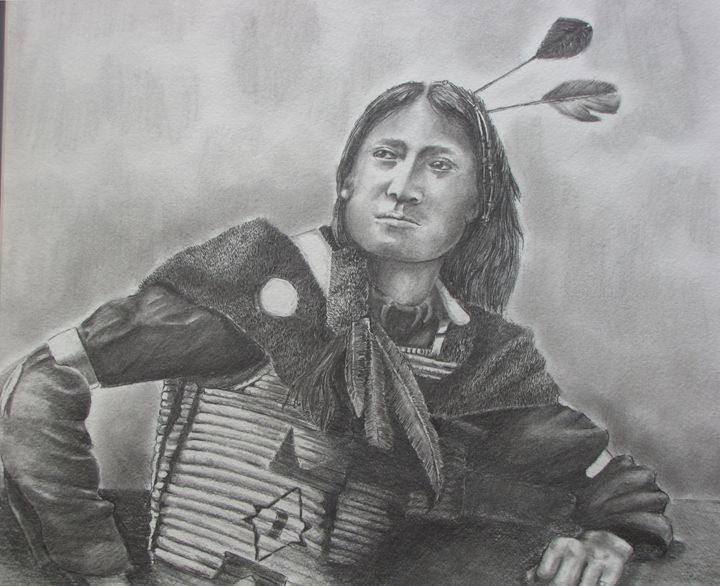 Cheyenne - Pencil by Nail