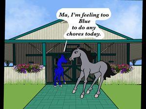 Mr. Moody is Blue