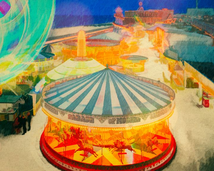 The Fairground - Edmund Nagele F.R.P.S.