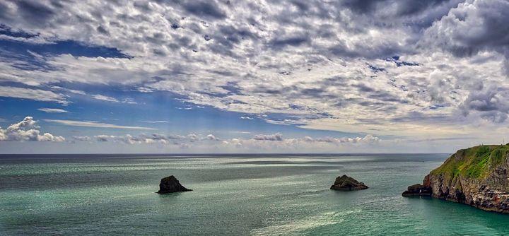 The Sea So Calm - Edmund Nagele F.R.P.S.